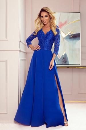 Dámské šaty  309-2 Amber - NUMOCO královská modř