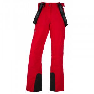 Dámské lyžařské kalhoty Elare-w červená - Kilpi