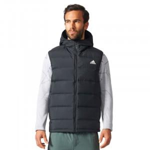Adidas Helionic Péřová vesta s kapucí M BQ2006