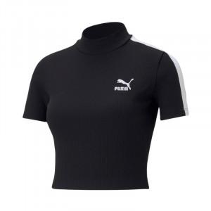 Košile Puma Classics Rib Mock Neck W 530229