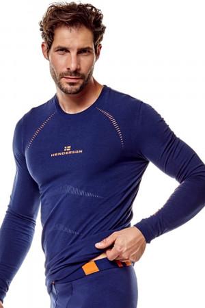Pánské tričko 22969 Skin blue - HENDERSON tmavě modrá