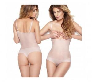 Dámské tvarující a zeštíhlující body Glam Body String - Mitex