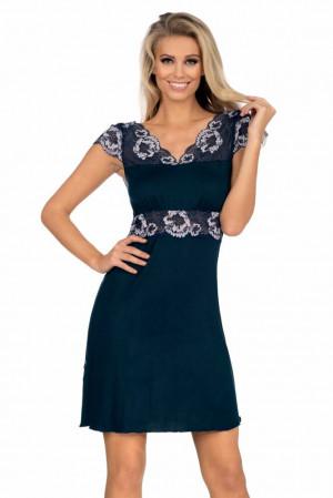 Luxusní dámská košilka Helen tmavě modrá Modrá