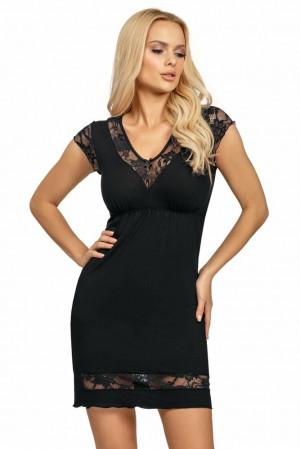 Luxusní dámská košilka Dafne černá černá