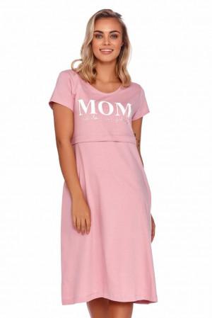 Mateřská noční košile Harmony růžová Růžová