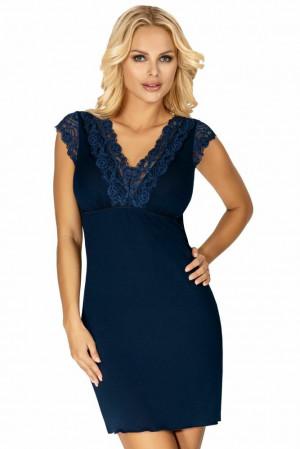 Luxusní košilka Brenda tmavě modrá Modrá