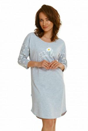 Dámská noční košile Nicole šedá šedá