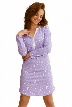Dámská košilka Livia fialová fialová