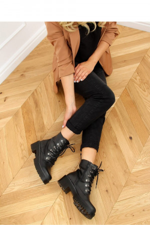 Dámské boty KL-785 - Inello černá