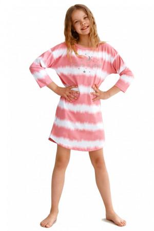 Dívčí noční košile 2620 - TARO růžová 158