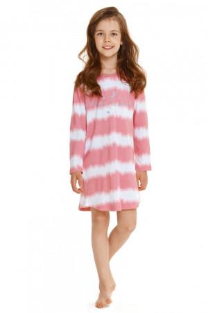 Dívčí noční košile 2591 - TARO růžová