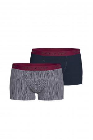 Vamp - Pohodlné pánské boxerky - set 2 ks 15886 - Vamp blue oxford m