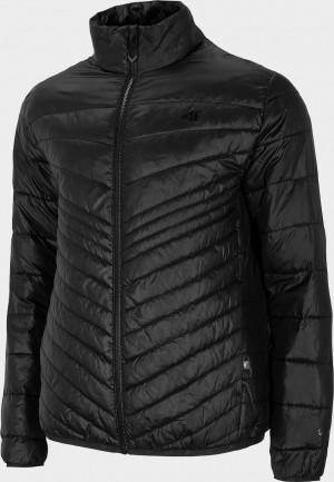 Pánská ultra lehká bunda 4F KUMP202 Černá Černá