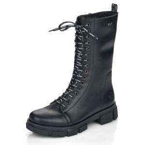 RIEKER, Kotníčková obuv  Y7130-00 černá EU