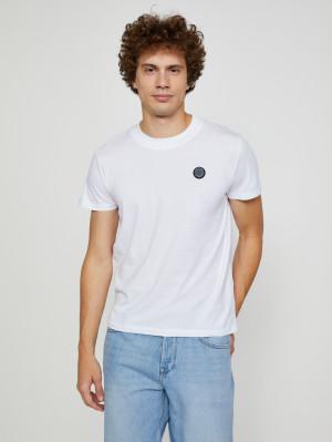 Bílé pánské tričko Pepe Jeans Wallace