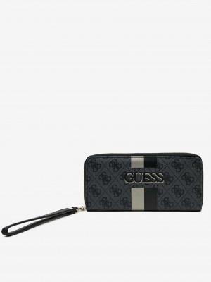 Šedo-černá dámská peněženka Guess