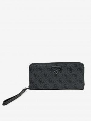 Černá dámská vzorovaná peněženka Guess
