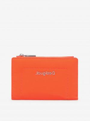Oranžová dámská malá peněženka Desigual Happy Bag Emma