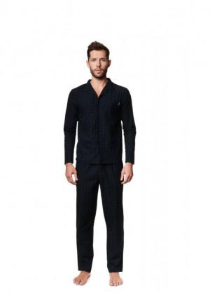 Pánské pyžamo Henderson 39235 L Černá