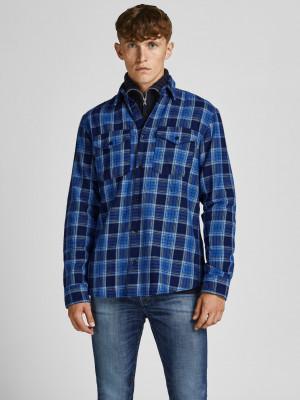 Bluwoodland Košile Jack & Jones Modrá