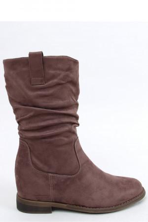 Boty na klínovém podpatku  model 159131 Inello