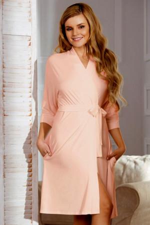 Dámský župan Bianca pink - BABELLA růžová