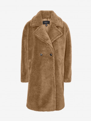 Scarlet Kabát Vero Moda Hnědá