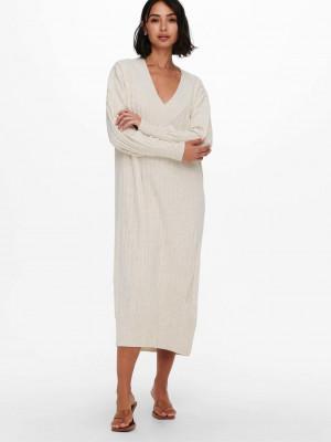New Tessa Šaty ONLY Bílá