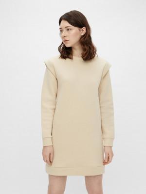 Šaty Pieces Bílá