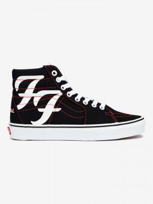 Foo Fighters Sk8-Hi Tenisky Vans Černá