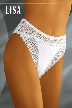 Dámské kalhotky Lisa white bílá
