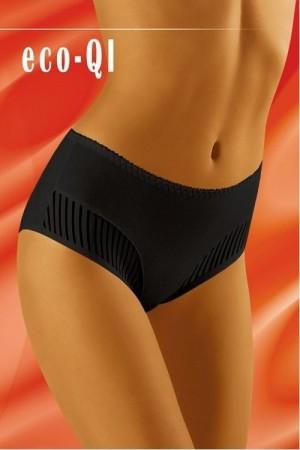 Dámské kalhotky eco-QI black černá