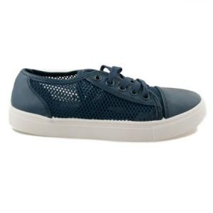 Dokonalé dámské tmavě modré tenisky