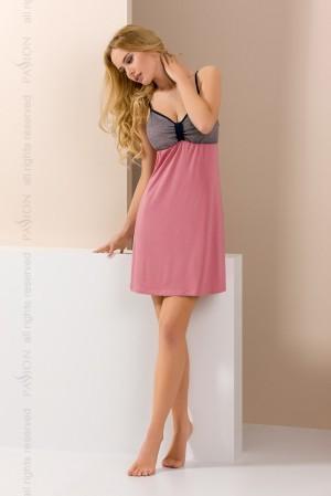 Noční košile Passion PY046 růžová