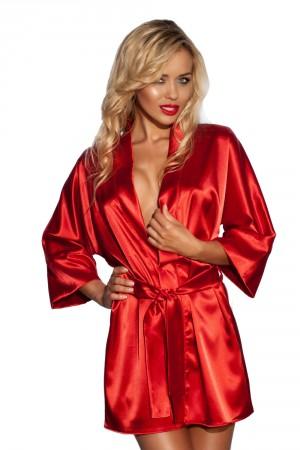 Elegantní župan Panama červený  XL