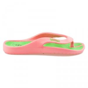 Růžové pohodlné žabky na léto