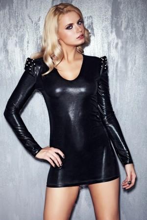 Erotické šaty Brandy černá