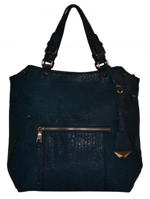 Jemná modro-zelená dámská kabelka  univerzální