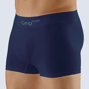 Boxerky Bamboo delší nohavička Blue