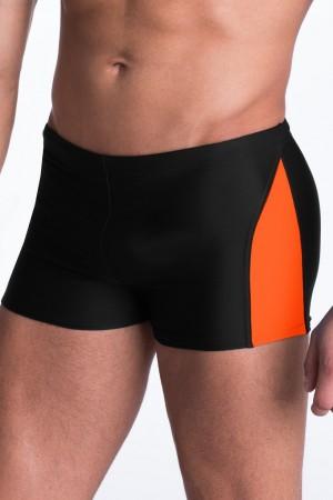 Pánské plavky boxerky David černé  3XL