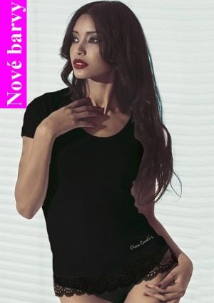 Dámské tričko Pierre Cardin Chanel barvy L Tělová