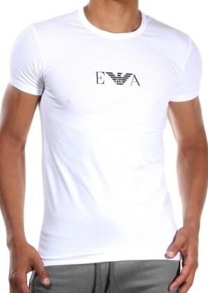 Pánské tričko Emporio Armani 111267 CC715 bílá L Bílá