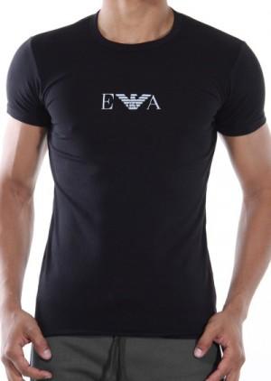 Pánské tričko Emporio Armani 111267 CC715 černá L Černá