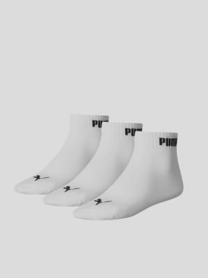 Ponožky Puma QUARTER-V 3 Pack Bílá