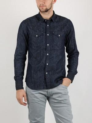 Košile Replay M4860 Černá