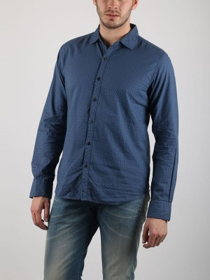 Košile Replay M4863 Modrá