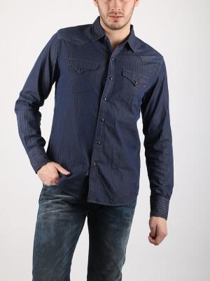 Košile Replay M4860Y Modrá