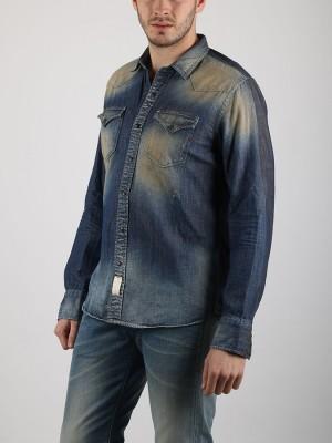 Košile Replay M4860 Modrá