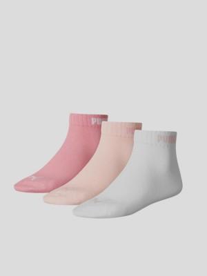 Ponožky Puma QUARTER-V 3 Pack Barevná