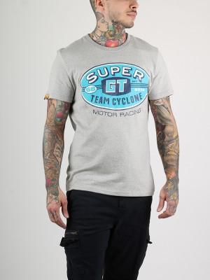Tričko Superdry REWORKED CLASSICS TEE Šedá
